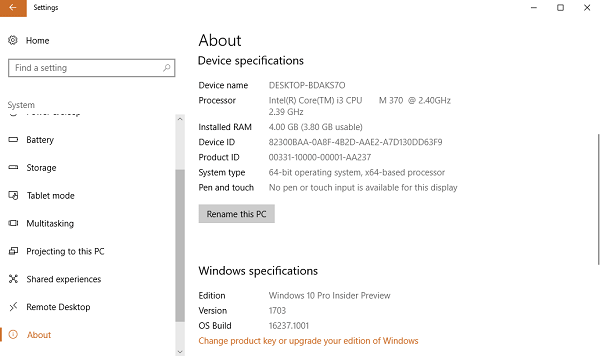 How to Find Out Which Build and Version of Windows 10