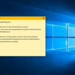 Windows 10 Sticky Notes Location