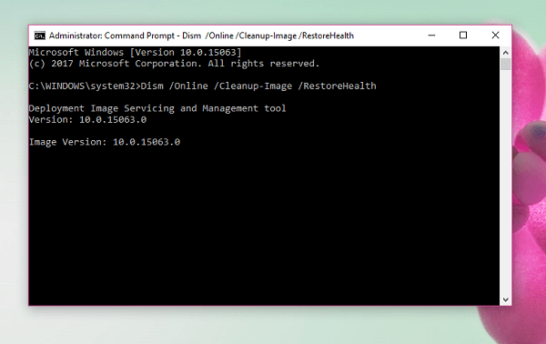 repair windows image using dism in windows 10