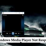 Fixed: Windows Media Player Not Responding