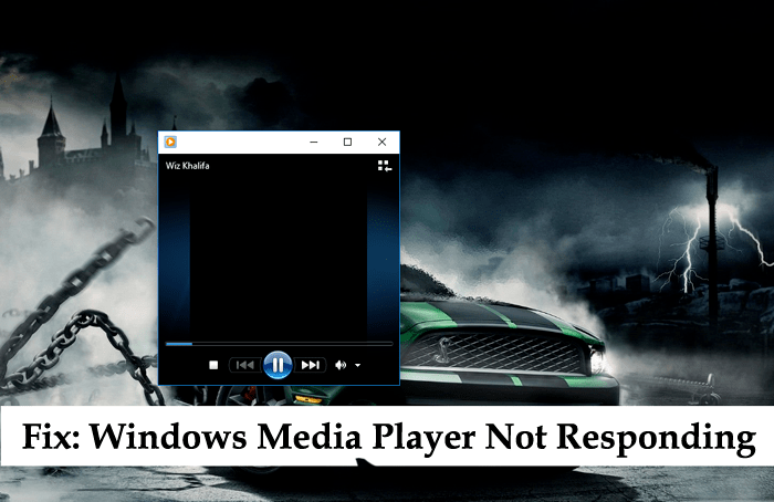windows media player not responding