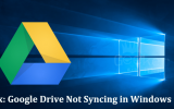 Google Drive Not Syncing in Windows 10