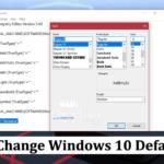 How to Change Windows 10 Default Font