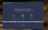 how to uninstall avast antivirus from windows 10