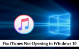 itunes not opening in windows 10