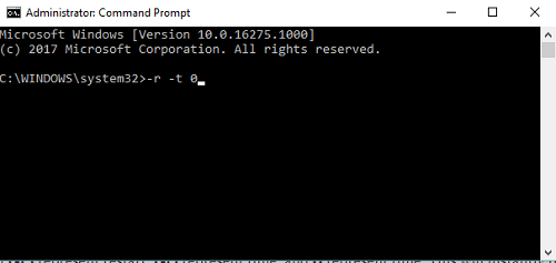 reboot windows 10 using command prompt