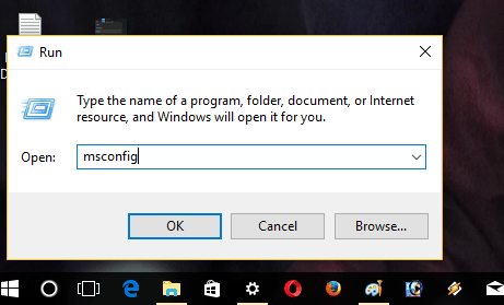 windows 10 run dialog box
