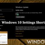 Windows 10 Settings Shortcuts (ms-settings)