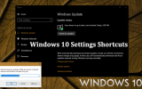 Windows 10 Settings Shortcuts