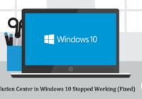 HP Solution Center in Windows 10