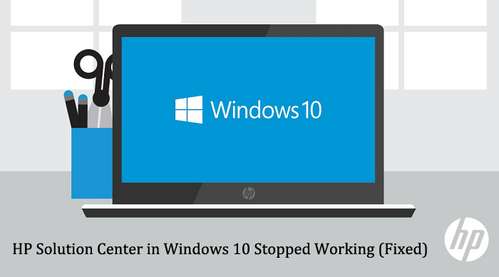 HP Solution Center in Windows 10