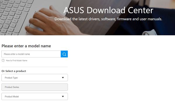 asus download center