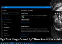 """Fix: High Disk Usage Caused by"""" Tiworker.exe in windows 10"""