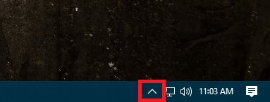 windows 10 system tray icon