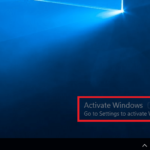Remove Activate Windows 10 Watermark [Explained]