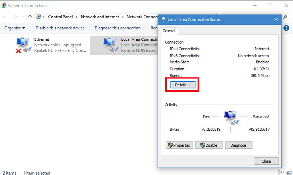 how to change the mac address in windows 10