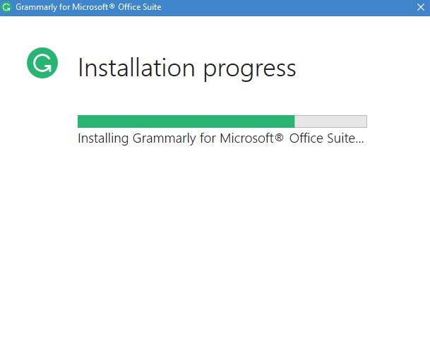 grammarly installation