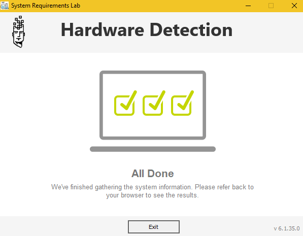 hardware detection