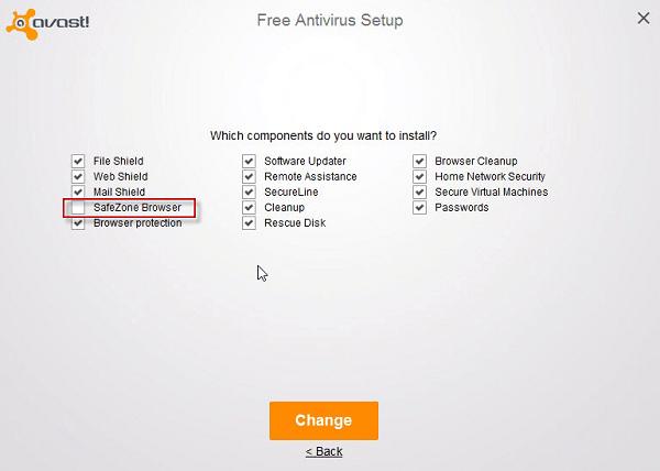 remove safezone browser