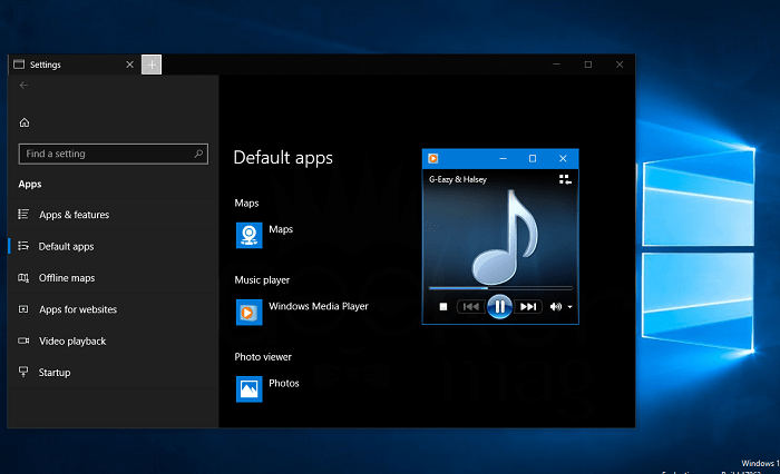 how to make windows media player default