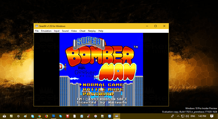 snesx9 - The best snes emulator for windows 10