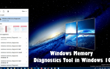 How to Run Windows Memory Diagnostics Tool in Windows 10