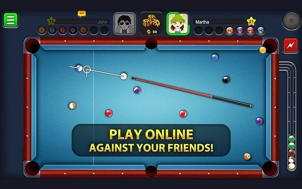 8 ball pool for facebook