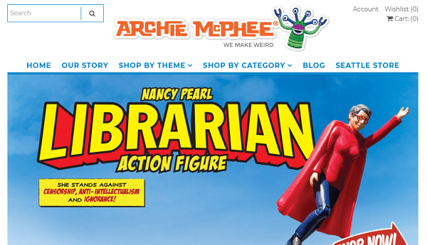 Archie McPhee-thinkgeek alternative