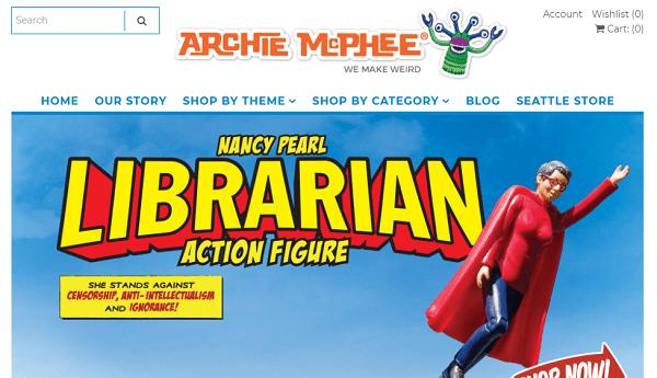 Archie McPhee-thinkgeek alternative