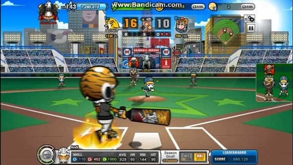 Baseball Heroes for facebook