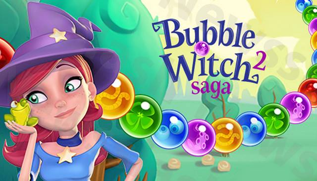 Bubble Witch Saga 2 for facebook