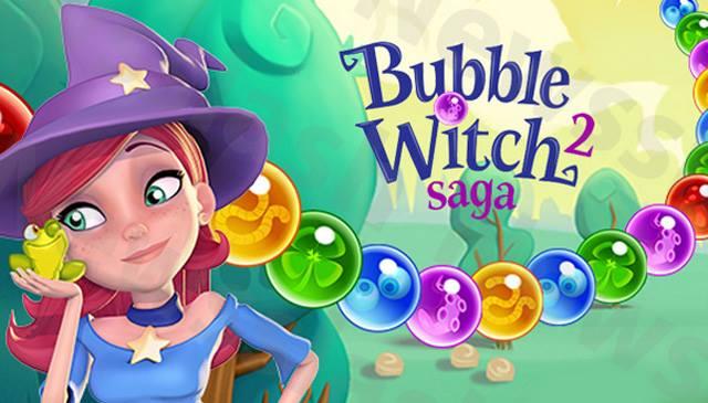 Bubble Witch Saga 2 for facebook