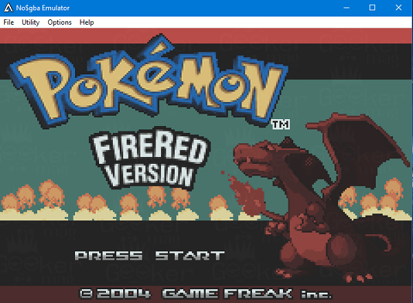 NO$GBA - best gba emulator for pc