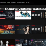 How to Remove Continue Watching from Netflix Home List