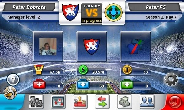 Top Eleven Be a Football for Facebook