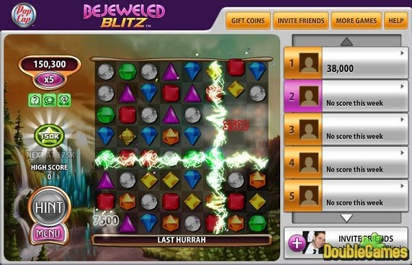 bejeweled blitz for facebook