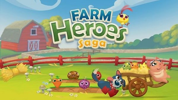farm heros saga for facebook