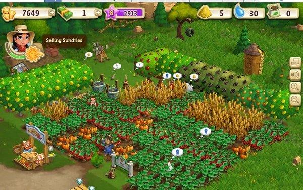 farmville 2 for facebook