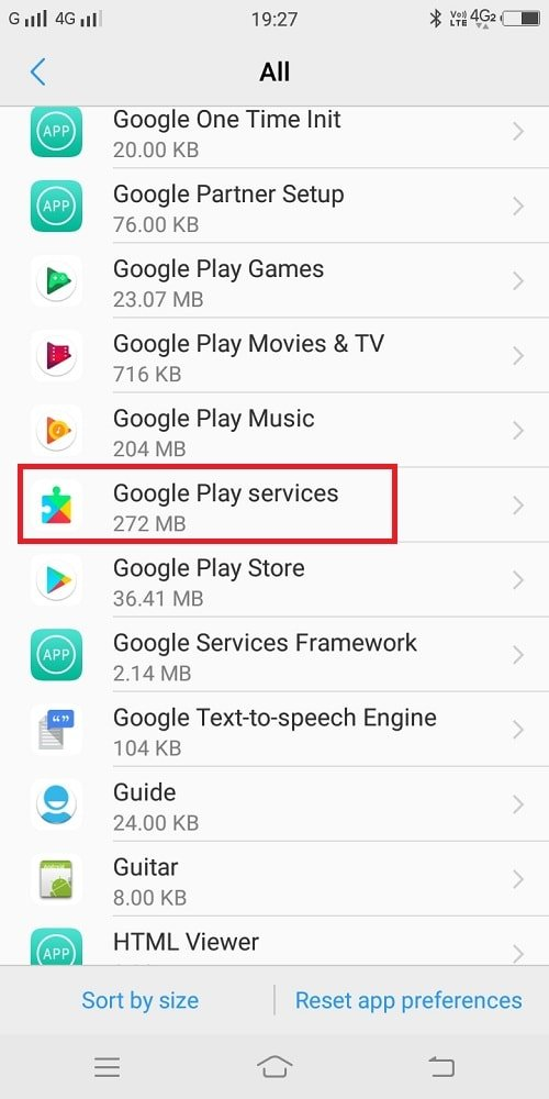 google play services app