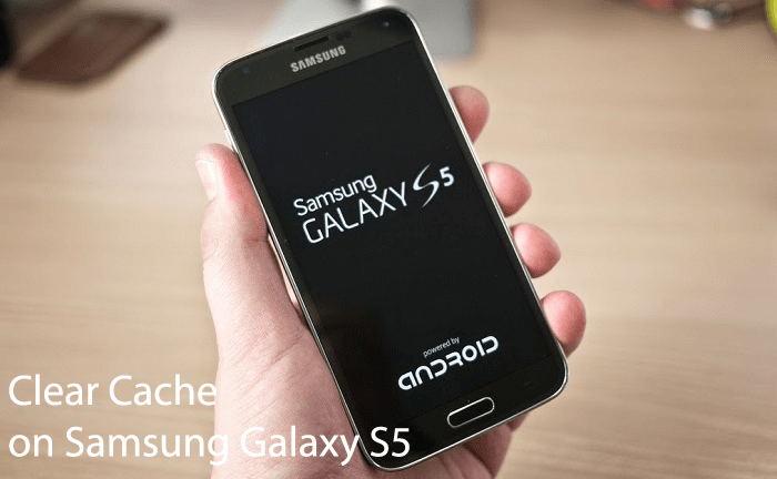 how to clear cache on galaxy s5