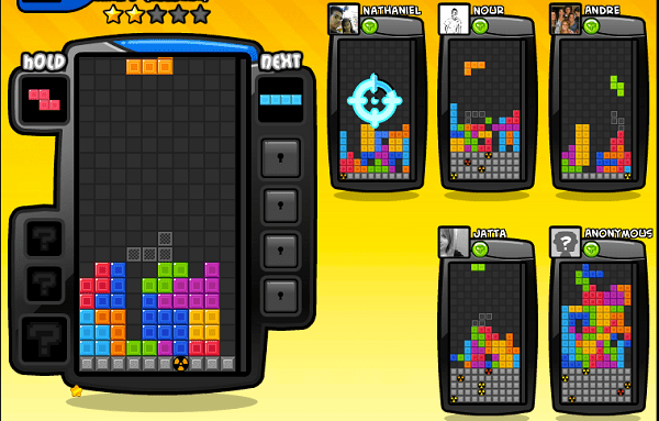 tetris battle for facebook