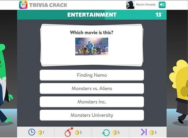trivia crack for facebook