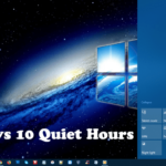 How to Manage Windows 10 Quiet Hours Settings (Fall Creators Update)