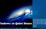 windows 10 quiet hours settings