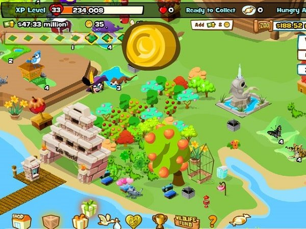 zoo world for facebook