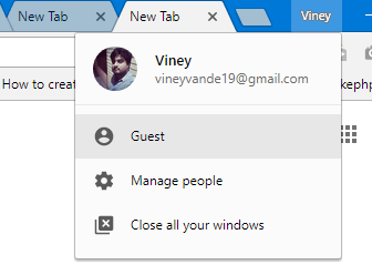 chrome guest mode