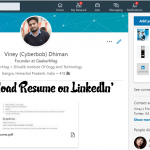 How to Add Resume on Linkedin Profile – 2018