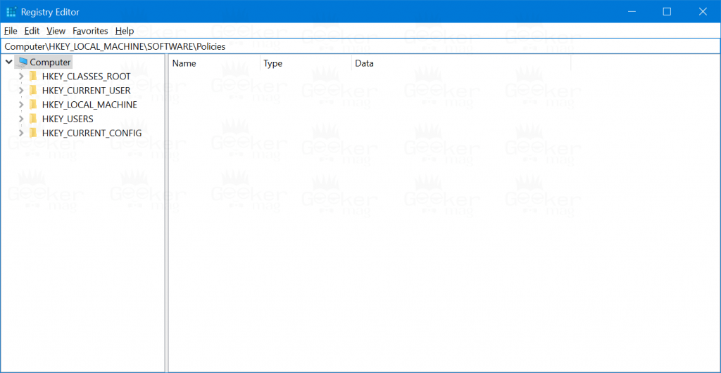 registry editor address bar in windows 10