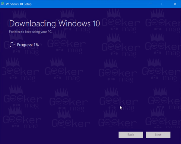 windows 10 media creation tool - downloading windows 10