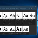 How to Install Fonts in Windows 10 from Microsoft Store